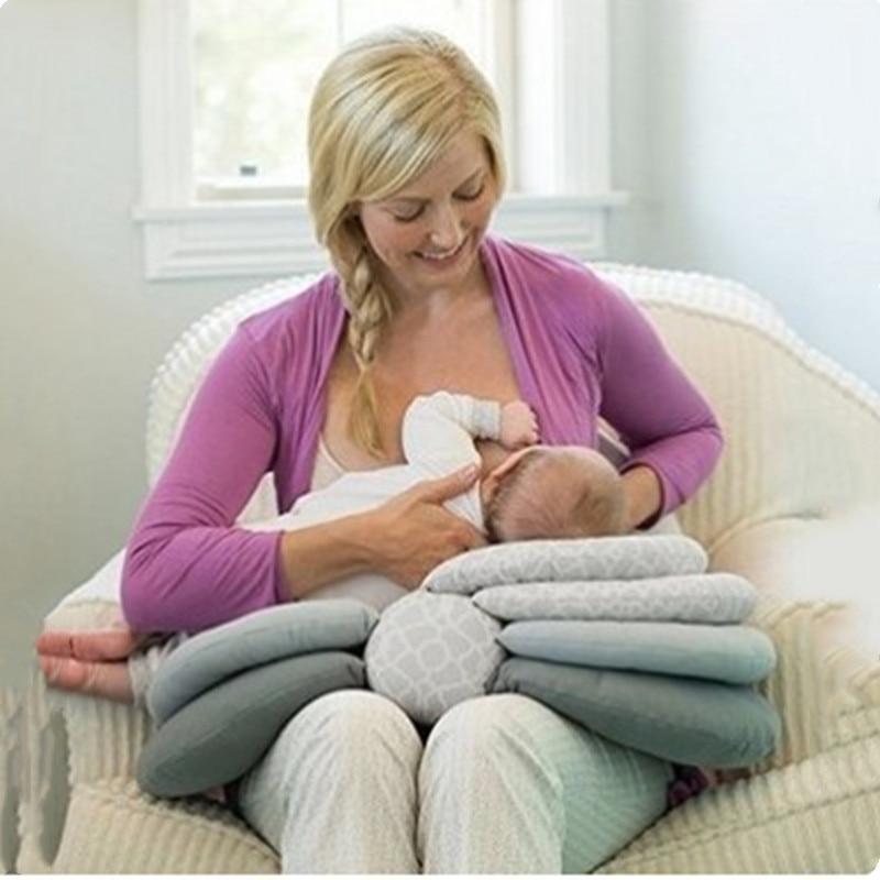 1PC Multifunctional Breastfeeding Nursing Pillow Baby Self-Feeding Feeding Pillow