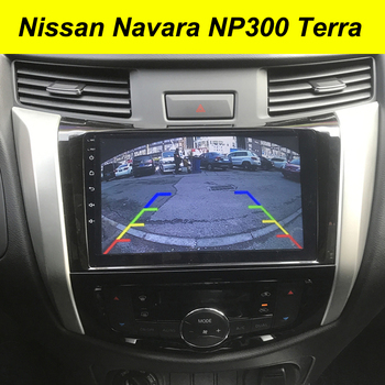 64GB Android 10 2Din Car Multimedia GPS For Nissan Navara NP300 Terra Autoradio Navigation Stereo Head Unit Tape Recorder Radio image