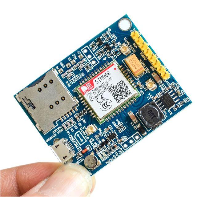 Sim868 لوحة الدعم الخلوية جي بي أس, جي بي أر أسبي تي, اللوحة الداعمة للخلوية و تحديد المواقع و تقنية البلوتوث