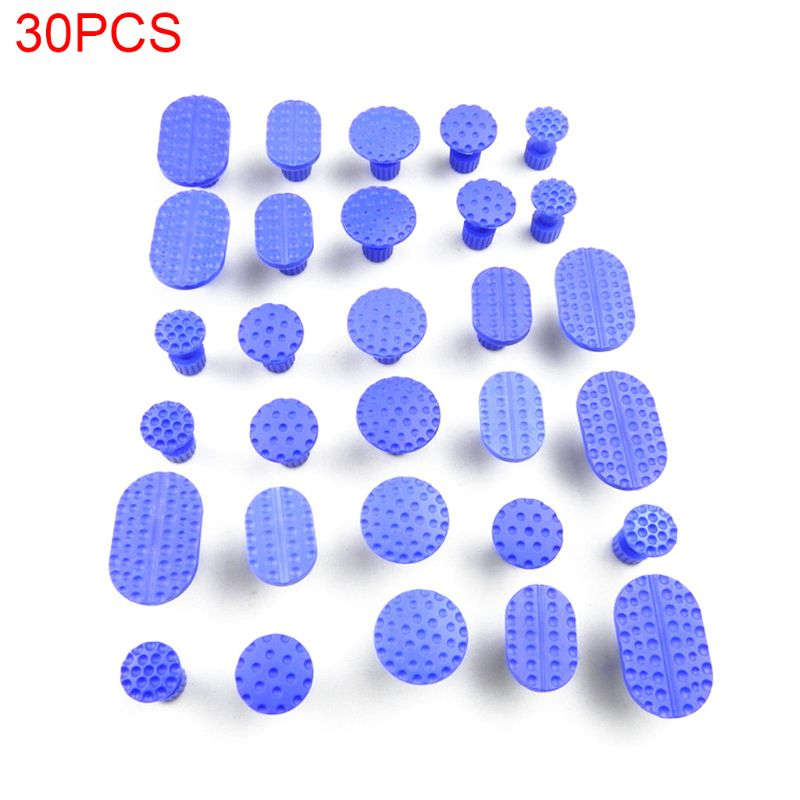30 Pcs/pack Car Body Dent Removal Pulling Tabs Repair Tool Glue Paintless Lifter