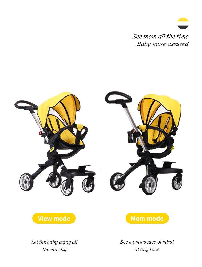 Carrinho para bebê leve