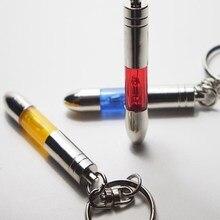Criativo Anti-estático Unisex Keychain Anel Chave Do Carro de Plástico Pendurado Decoração Presente