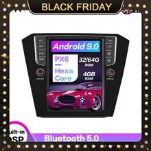 Android 90 4 + 64 Гб вертикальный tesla экран Автомобильный