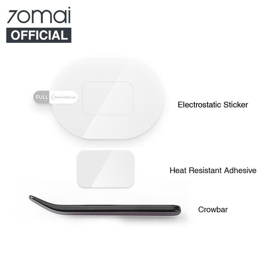 Оригинальный набор инструментов для автомобильного видеорегистратора 70mai, Электростатическая наклейка для видеорегистратора 70mai, термост...