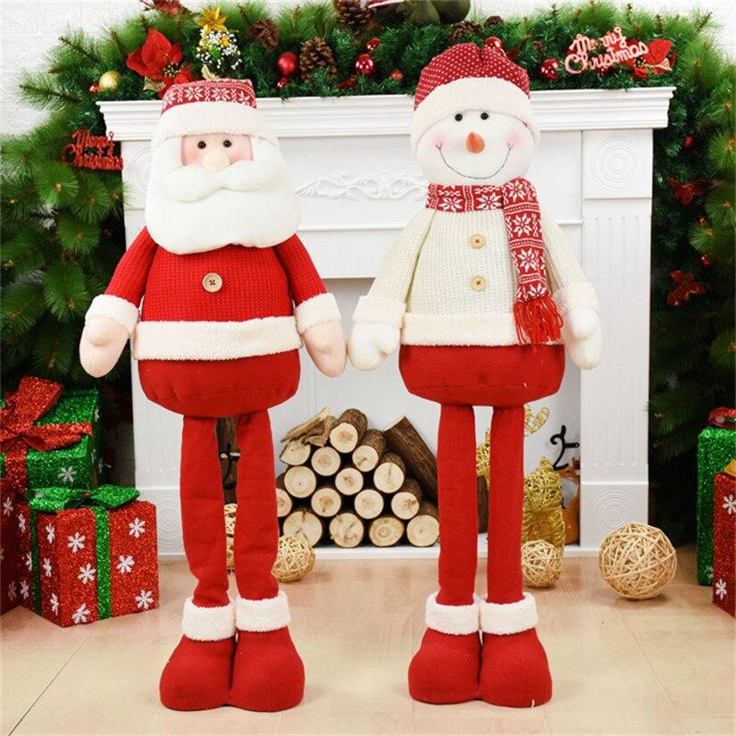 Ano novo 100 centímetros de Papai Noel Decorações De Natal Para Figuras de Natal Para Casa Acessórios de Decoração Da Árvore de Natal Enfeites de Natal