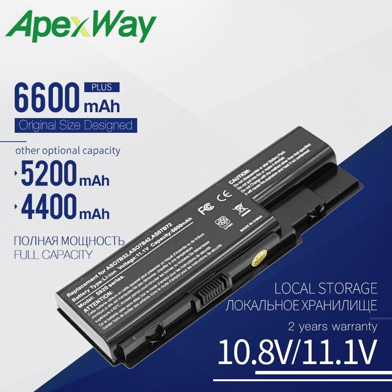 Apexway Battery For ACER AS07B31 AS07B41 5715 5715Z 5720 5720G 5730 5730Z 5730ZG 5730ZG 5739 5739G 5910G 5920G 5930 5935 5942