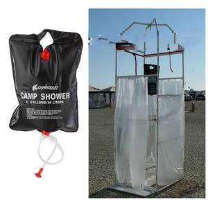 Colzero складная сумка для душа на открытом воздухе Солнечная энергия с подогревом 20l кемпинг мешок для плавания Кемпинг путешествия альпинист...