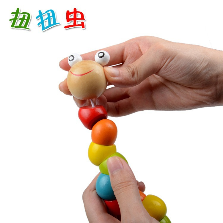 Children Toy Worm Caterpillar Toys Infant 3-6-12 Flexible Practice Finger Month Unisex Early 10 Yuan