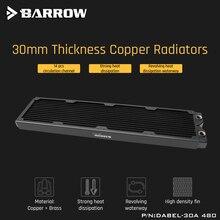 Barrow Dabel 30a 480 Radiatore di Rame 30 millimetri di Spessore 14pcs Circolazione Canale Adatto Per 120 millimetri Ventole