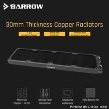 בארו Dabel 30a 480 נחושת רדיאטור 30mm עובי 14pcs זרימת ערוץ מתאים עבור 120mm אוהדים