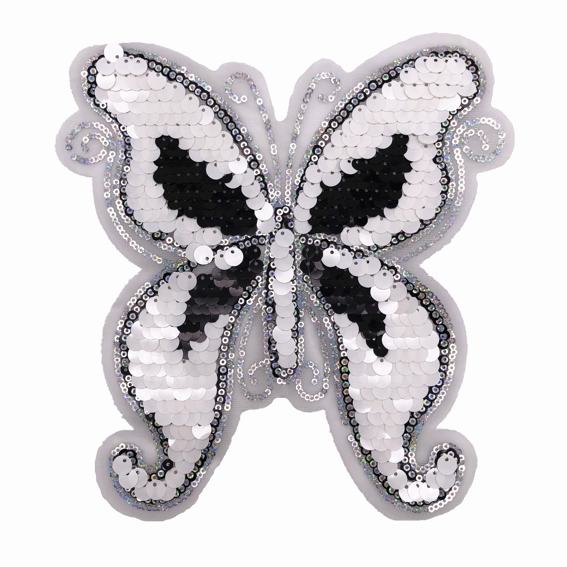 Sequins Butterfly Colored Sequins Patch Stickers Application Clothing Accessories Patch Stickers Clothes T-Shirt Diy Accessories