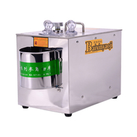 Automatic multi-function household Chinese medicine slicer  efficient commercial cutting machine  slicing tool
