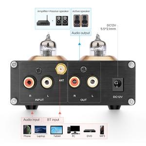 Image 4 - Aiyima Bluetooth 5.0 APTX Hifi 6J1 Ống Màu Preamp Bộ Khuếch Đại Âm Thanh Nổi Tiền Khuếch Đại Với Bass Treble Kiểm Soát Cho Nhà Âm Thanh Âm Thanh