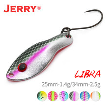 Jerry Ultralight Lure Mini Trout Spoons 1.4g, 2.5g Floating Wobbler Spinner Bait UV Color Fishing Spoons Finesse Fishing