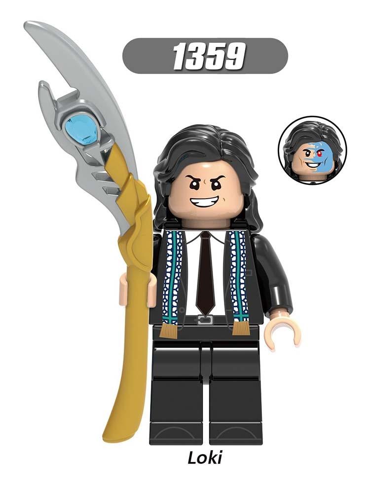 Single Sale Compatible Marvel LEGOEINGLYS Super Heroes Avengers Laufey Thor Loki Frigga Blocks Figures Toys For Baby GIft X0269