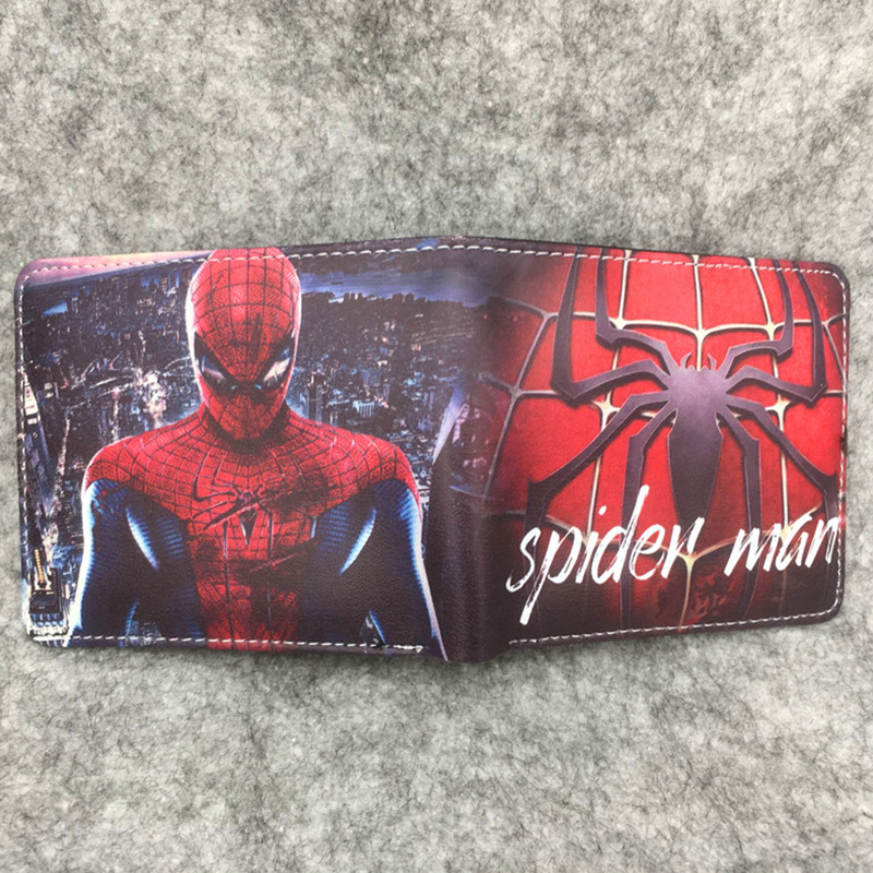 Wallet Logo Avengers License-Holder COMICS Oyster Captain Hulk DC Spider-Man Thor Iron