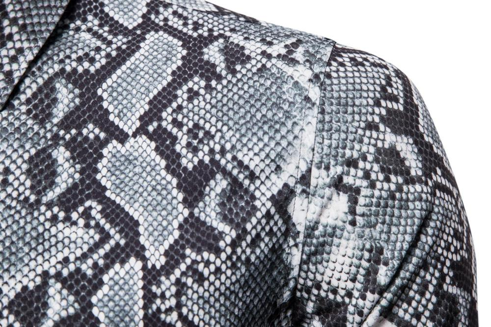 cotton leopard  shirt large size cotton short-sleeved casual young men's shirt 3