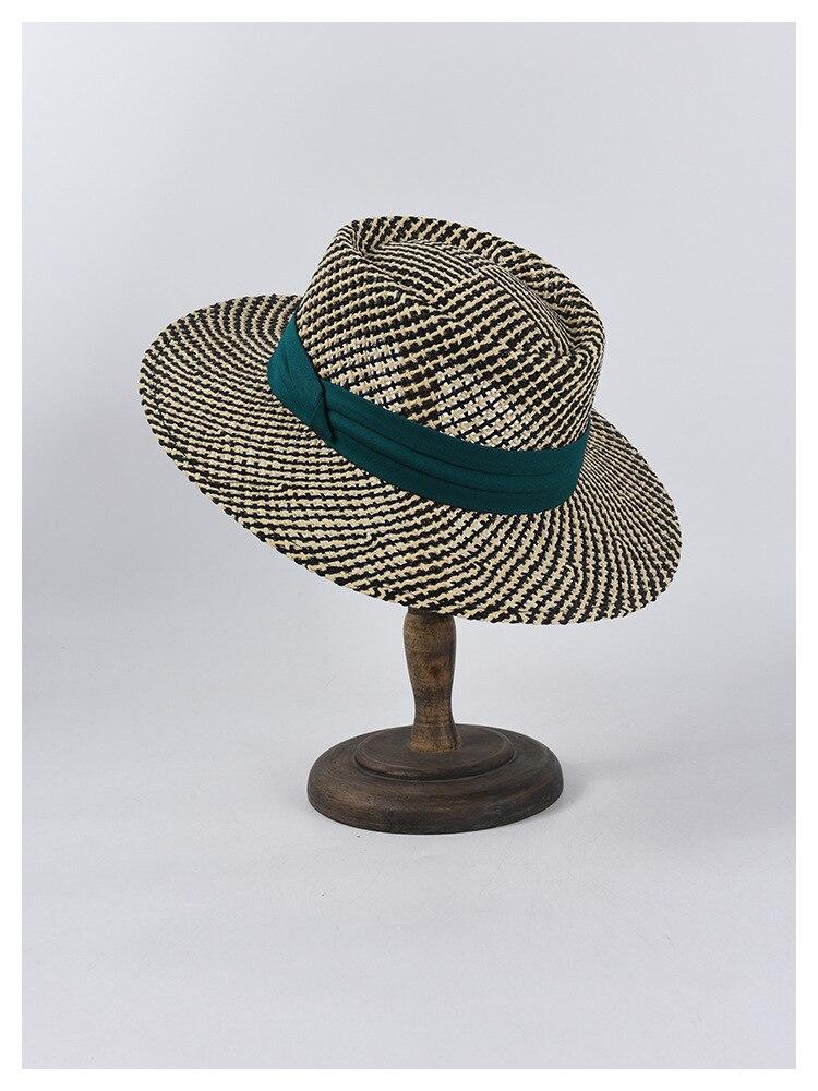 Chapeau de paille d'été