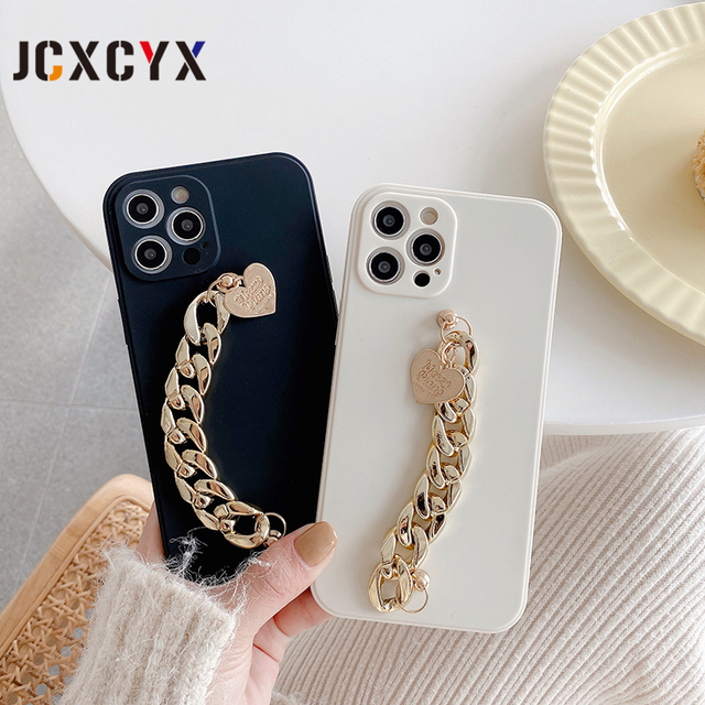 Hot Japan plating Acrylic Bracelet chain soft case for iphone 12 Pro Max MiNi 11 Pro Max XR X XS Max 7 8 plus 6S SE 2020 cover 2