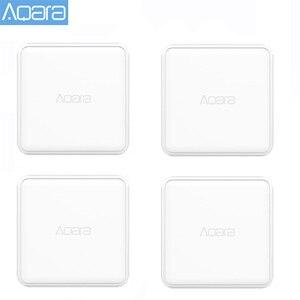 Image 1 - جهاز تحكم لمكعب سحري Aqara أصلي إصدار زيجبي يتحكم به ستة إجراءات لعمل جهاز منزلي ذكي مع تطبيق Mijia Home