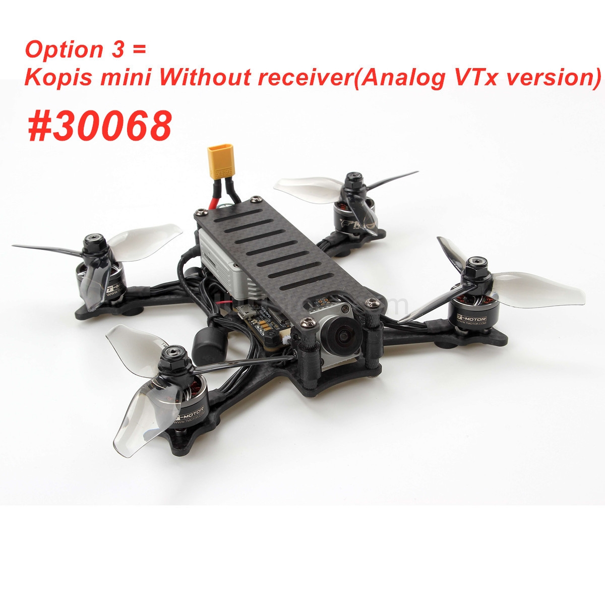 Holybro Kopis Mini FPV Racing Drone 148.6mm 3 Inch Frame F7 FC FPV SYSTEM RC Quadcopter PNP BNF Optional