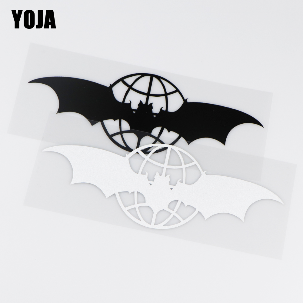 YOJA 20.1X7.3CM Cartoon Vinyl Car Sticker Decal Military Intelligence Bat Russian Army ZT2-0034