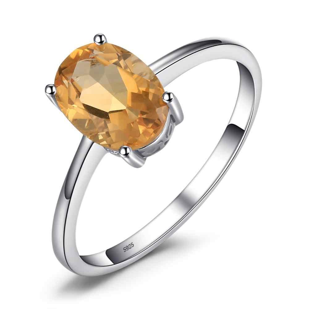 JE prawdziwy ametyst cytryn Peridot Garnet pierścień topaz pasjans 925 srebro pierścionki dla kobiet srebro 925 kamieni szlachetnych biżuteria