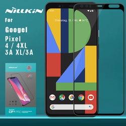Dla Google Pixel 4XL 4 3A XL szkło hartowane Nillkin CP + Pro pełna osłona ekranu dla Google Pixel 4 3A XL szkło Nilkin w Etui do ekranu telefonu od Telefony komórkowe i telekomunikacja na