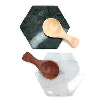 Wooden Spoon Milk-Powder Spice-Scoop Small Kitchen Natural Tea Flatware Sugar-Salt Feeding
