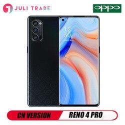 OPPO RENO 4 PRO 5G смартфон 6,5 дюймов OLED Snapdragon 76 5G 48MP камера Быстрая зарядка 65W NFC