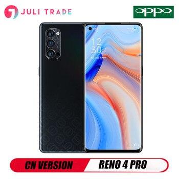 Перейти на Алиэкспресс и купить OPPO RENO 4 PRO 5G смартфон 6,5 дюймов OLED Snapdragon 76 5G 48MP камера Быстрая зарядка 65W NFC
