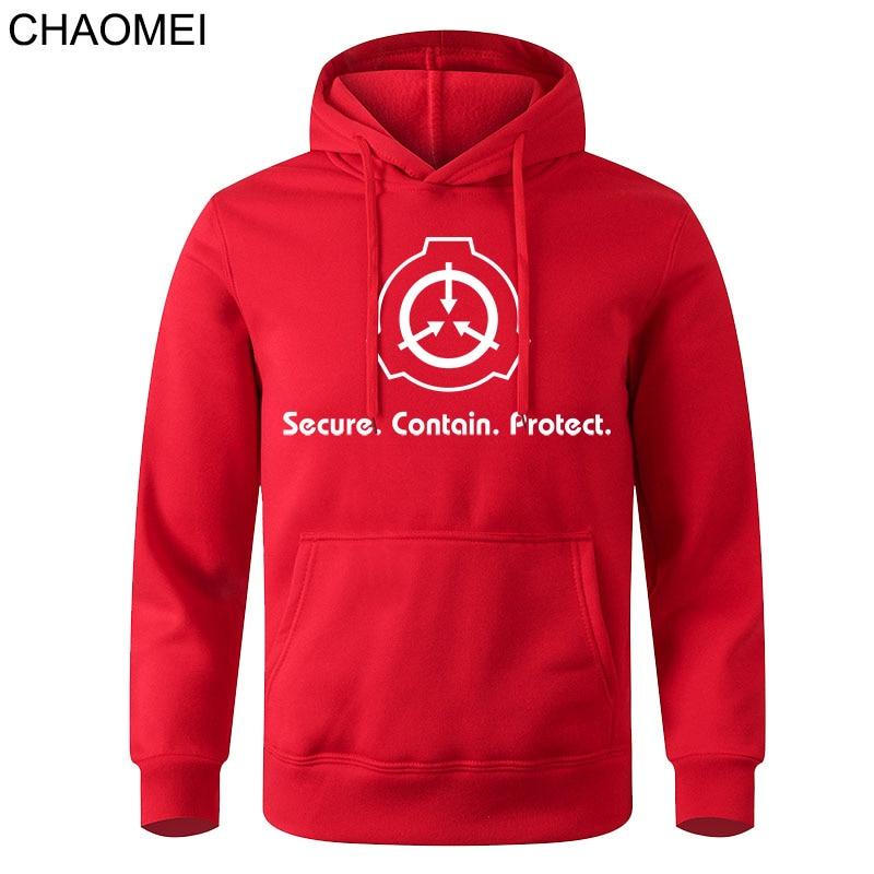 Special Containment Procedures Foundation Hoodies Men Women Cool Sweatshirts Streetwear Scp Printed Harajuku Pullover Hoody C159