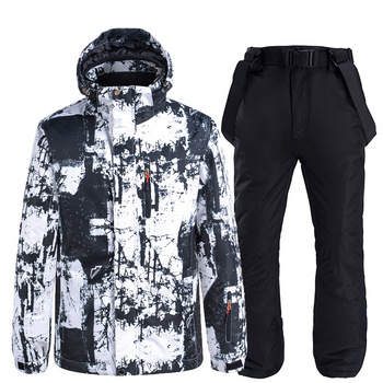 New Hot Ski Suit Men Women Winter Outdoor Windproof Waterproof Thermal Snow Pants Sets Male Skiing And Snowboarding Ski Jacket trvlwego outdoor ski suit men s windproof waterproof thermal snowboard snow skiing jacket and pants sets winter sports clothes