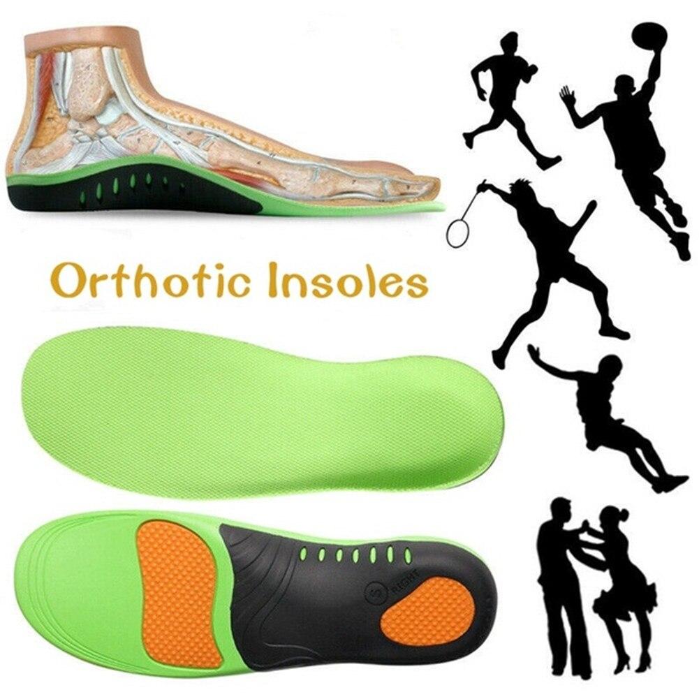 Высокое качество EVA ортопедические стельки для плоских стоп арки поддержки ортопедические обувь подошва стельки для мужчин и женщин обувь прокладки