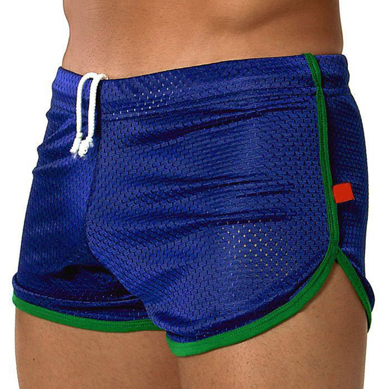 Men's Breathable Mesh Shorts Elasticated Pants For Trunks Sport  QL Sale