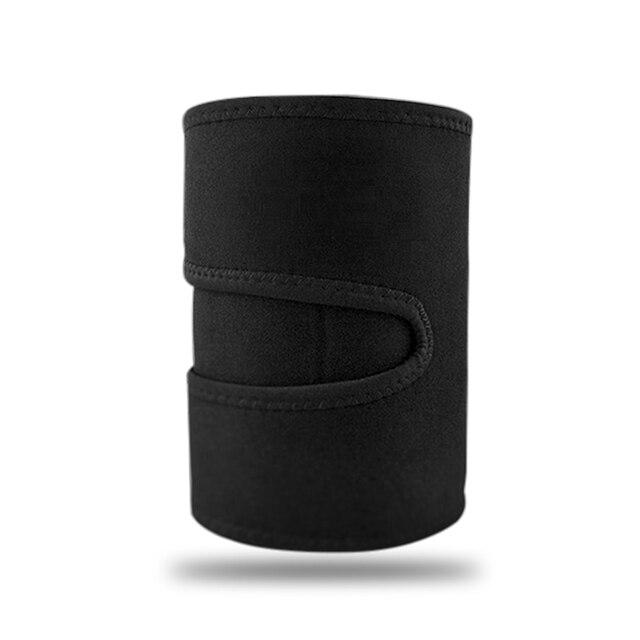 Beauty Leg Shaper Compression Leggings Legs Thermo Neoprene Compress Leg Belt Sweating Slimming Thigh Belts Slimming Burning Fat 5