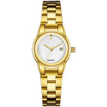 Top Brand Women Quartz Watches Fashion Casual Waterproof Luxury Watch Small Dial Stainless Strap Wrist Watch for Women