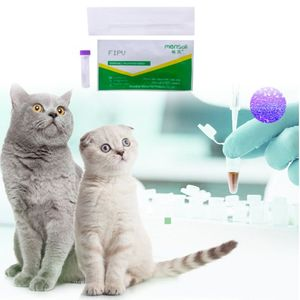 Image 2 - Cat Virus Detection Paper FIPV Infectious Peritonitis Test Card