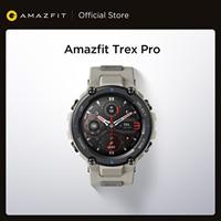 Original Amazfit Trex Pro reloj inteligente para exterior 100 + Deportes 10 ATM 18-Día de la vida de la batería de natación reloj inteligente para Android iOS