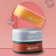 Kit Portable kit small medecine box  Drug storage Storage Portable storage Medicine storage box