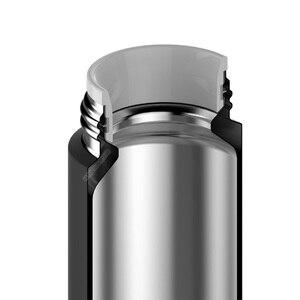 Image 2 - Xiaomi Mijia 350ml bouteille deau en acier inoxydable Thermos léger vide MIni tasse Camping voyage Portable tasse isolée Sport