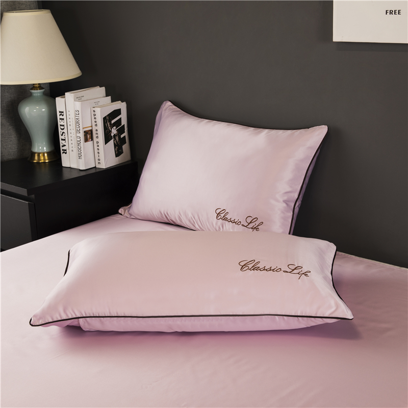 Free Shipping 100% Nature Mulberry Silk Pillowcase Pillow Case For Healthy Standard Queen King Multicolor Healthy Sleep 48x74cm