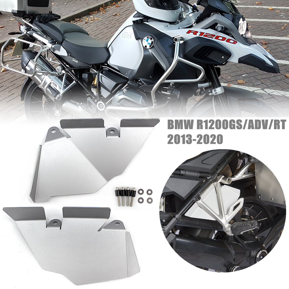 R1200 GS ADV Silver Passenger Seat Recess Cover for <font><b>BMW</b></font> <font><b>R1200GS</b></font> LC <font><b>Adventure</b></font> R RS R1200RT <font><b>2013</b></font> 14 2015 2016 2017 <font><b>2018</b></font> 2019 2020 image
