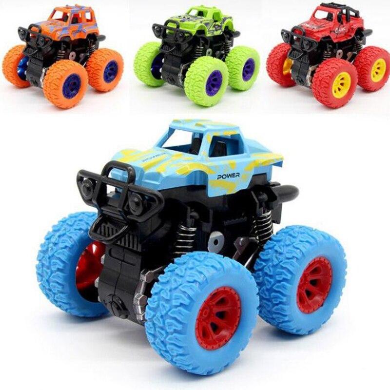 Stunt Bigfoot Cars Toys Monster Truck Inertia SUV Friction Power Vehicles Boys Super Cars Blaze Truck Model Anti-falling Toy Car