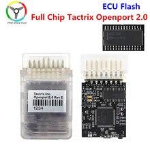 Mais novo tactrix openport 2.0 ecu chip tuning ferramenta porta aberta usb 2.0 ecu flash obd2 obdii conector multi marca carros
