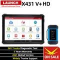 LAUNCH X431 V + сверхмощный HD модуль Bluetooth автомобильные диагностические инструменты полная система Obd2 сканер для 24V Грузовик Дизель