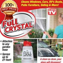 Полностью Хрустальный открытый стеклянный очиститель для семейного сада ручной распылитель горшок мощный чистящий инструмент для полного окно кристаллическое средство для очистки