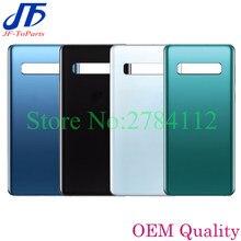 10 adet için arka cam değiştirme Samsung Galaxy S10 6.1