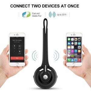 Image 5 - MPOW נייד אלחוטי Bluetooth 5.0 אוזניות ידיים אוזניות שחורות אוזניות עם מיקרופון עבור עסקים טלפון/מחשב נייד