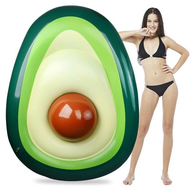 YUYU 160x125cm avocat anneau de natation gonflable nager piscine géante flotteur pour adultes pour piscine Tube cercle flotteur piscine jouets